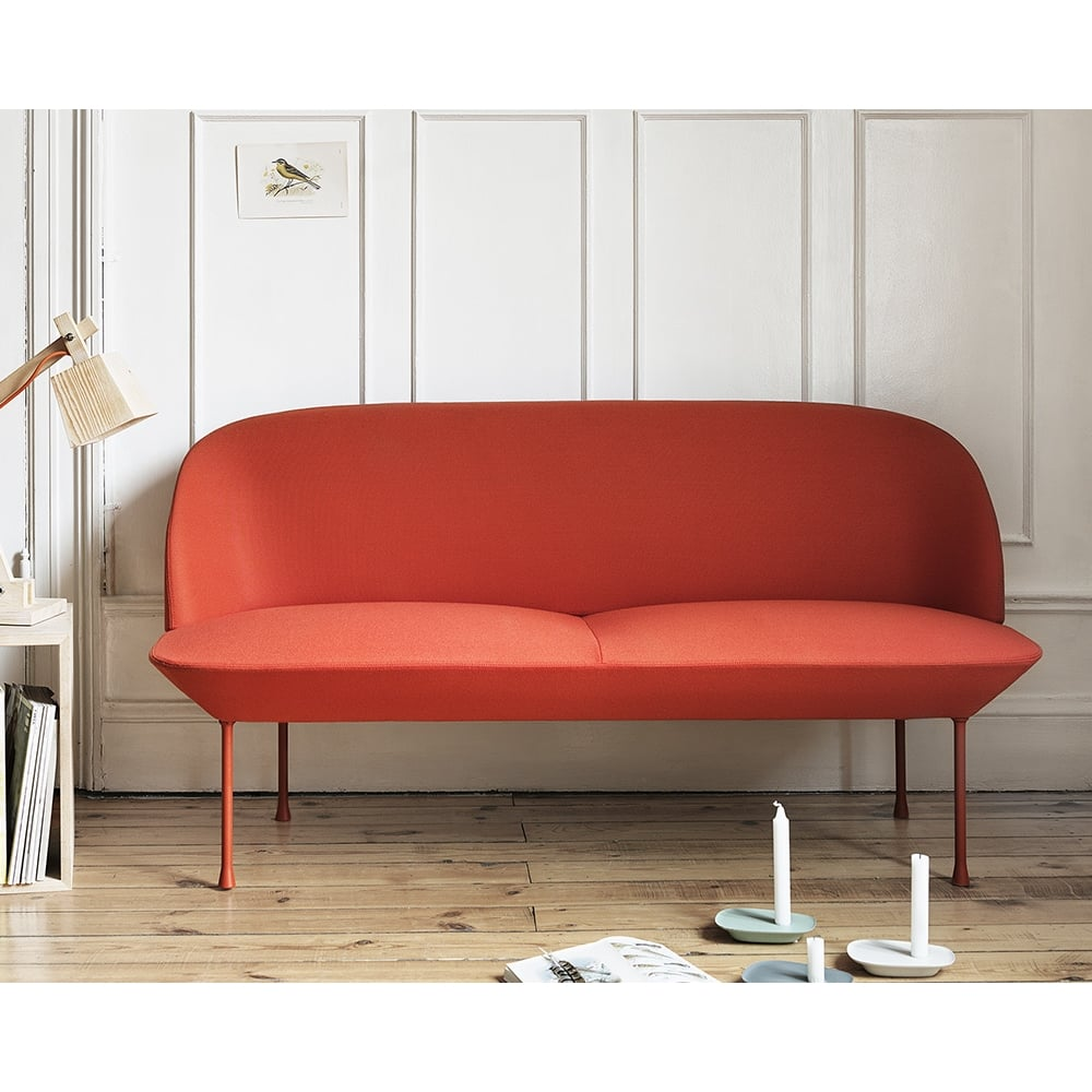 muuto oslo 2 seater sofa. Black Bedroom Furniture Sets. Home Design Ideas