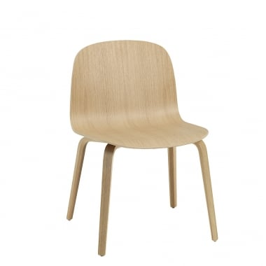 Muuto Visu Wide Wood Base Chair