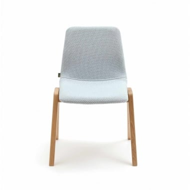 Naughtone Viv Dining Chair - Wood Leg