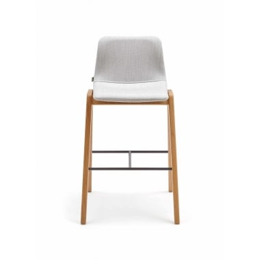 Naughtone Viv Bar Stool - Wood Leg