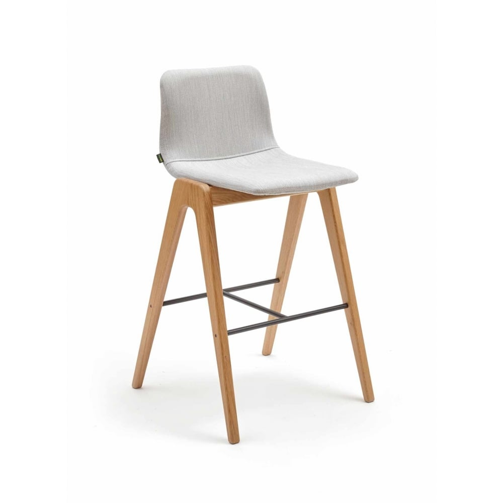 Naughtone Viv Bar Stool Wood Leg