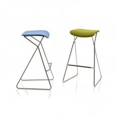 Orangebox Tide Upholstered Barstool