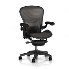 Herman Miller Aeron Chair (Classic) - Classic Carbon - Precision