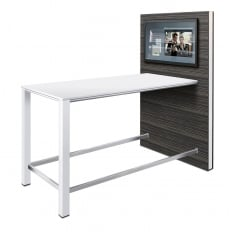 Sedus Temptation High Meeting Table with Media Panel