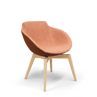 Sixteen3 Blake Wood Base Chair