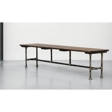 Steel Vintage Construction Table