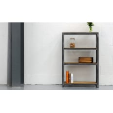 Steel Vintage Workshop Bookcase