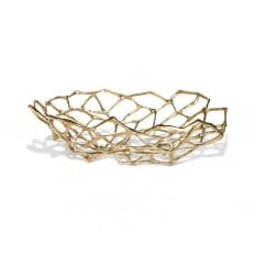 Tom Dixon Bone Bowl Large Brass