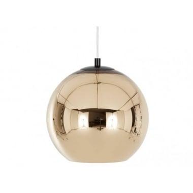 Tom Dixon Copper Bronze 25cm Pendant Light