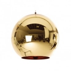 Tom Dixon Copper Bronze 45cm Pendant Light