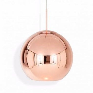 Tom Dixon Copper Shade 45cm Pendant Light