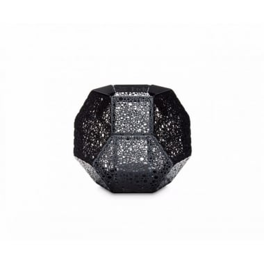 Tom Dixon Etch Tea Light Holder Black