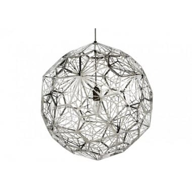 Tom Dixon Etch Web Steel Pendant Light
