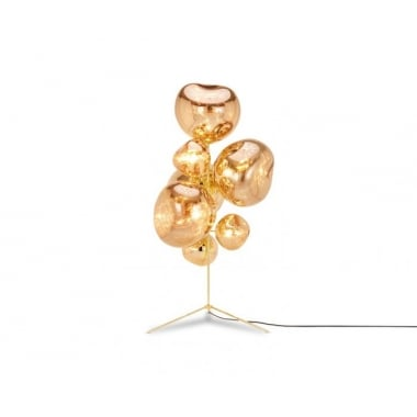 Tom Dixon Melt Stand Chandelier Gold