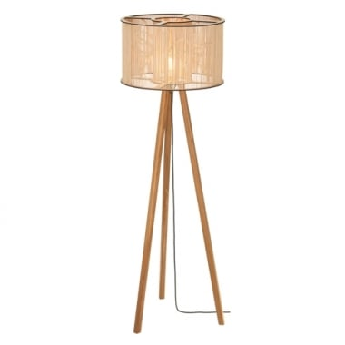 Tom Raffield Cage Floor Lamp