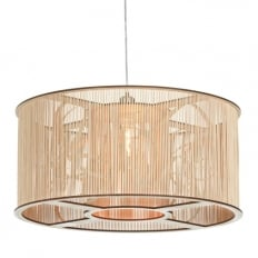 Tom Raffield Cage Pendant Large Light