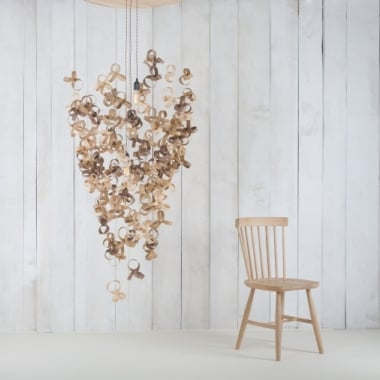 Tom Raffield Giant Flock Chandelier