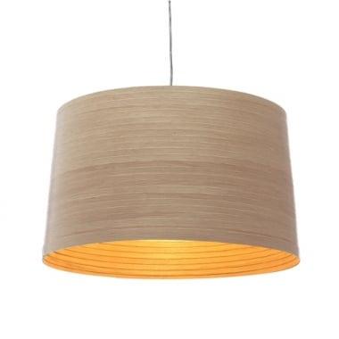 Tom Raffield Helix Drum Pendant Large Light