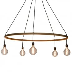 Tom Raffield Kern Pendant Giant Light