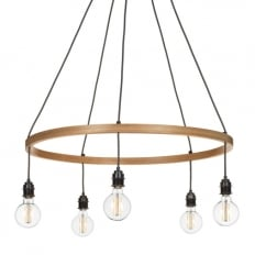 Tom Raffield Kern Pendant Large Light