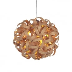 Tom Raffield No.1 Pendant Light