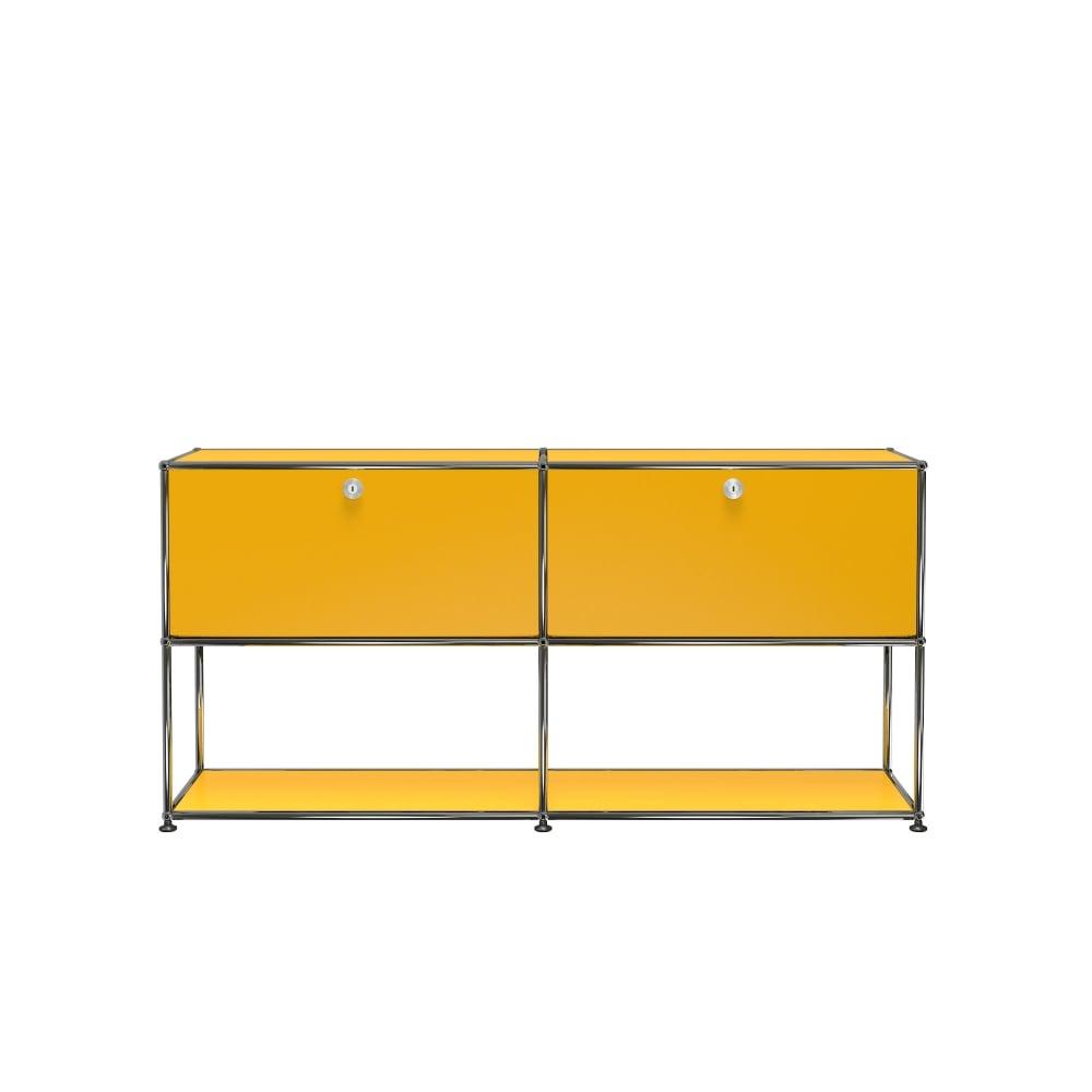 usm haller f2 credenza open bottom. Black Bedroom Furniture Sets. Home Design Ideas