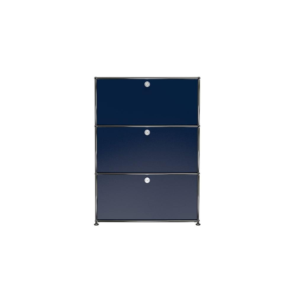 usm haller 3 high storage unit. Black Bedroom Furniture Sets. Home Design Ideas
