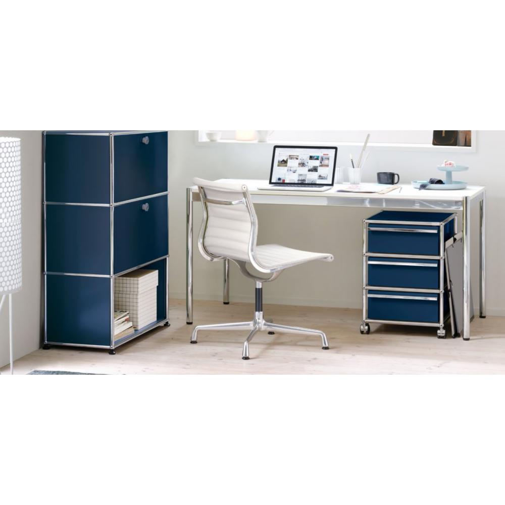 usm haller table pearl grey. Black Bedroom Furniture Sets. Home Design Ideas