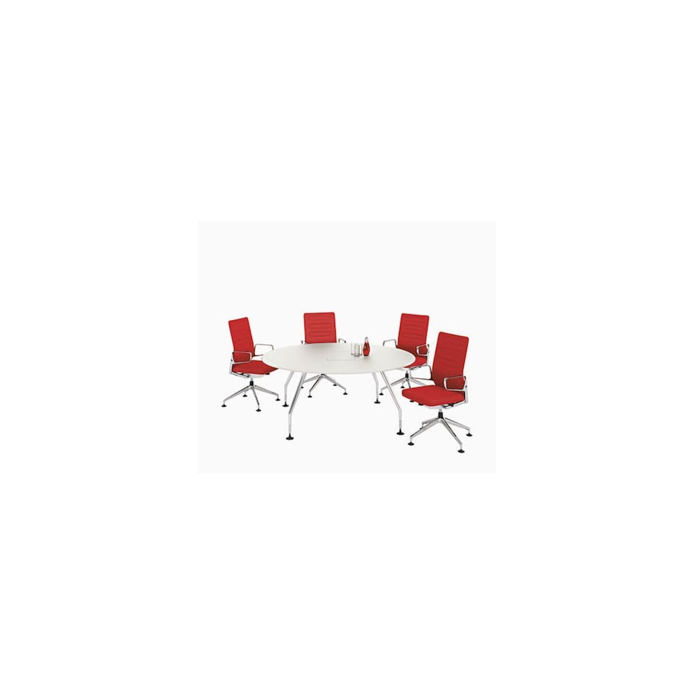 vitra ad hoc round meeting table. Black Bedroom Furniture Sets. Home Design Ideas