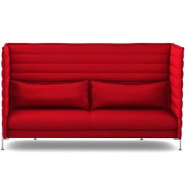 Vitra Alcove Highback Three Seater Sofa