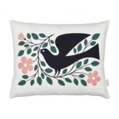 Vitra Dove Graphic Print Cushion