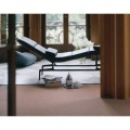 Vitra Eames Aluminium Group ES106 Soft Pad Chaise