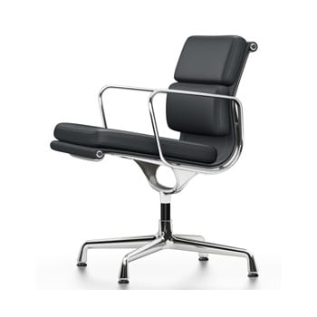 Vitra Eames Aluminium Group Soft Pad EA208 Chair