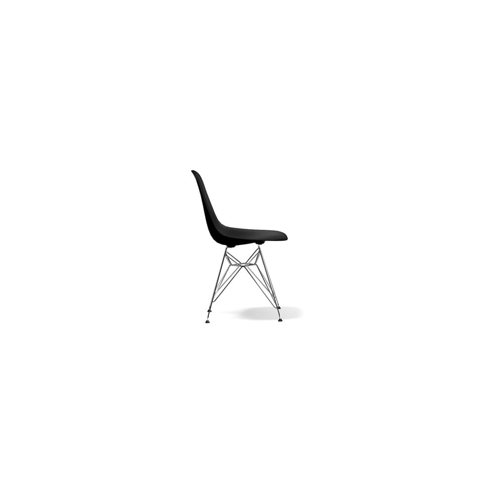 vitra eames dsr plastic side chair. Black Bedroom Furniture Sets. Home Design Ideas
