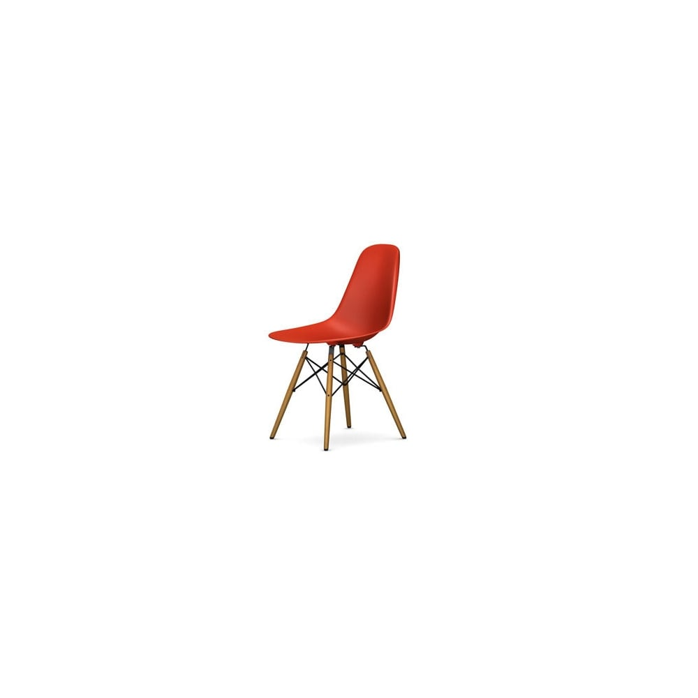 vitra eames dsw plastic side chair. Black Bedroom Furniture Sets. Home Design Ideas