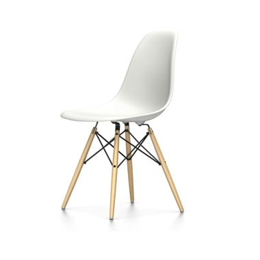 Vitra Eames DSW Plastic Side Chair - White