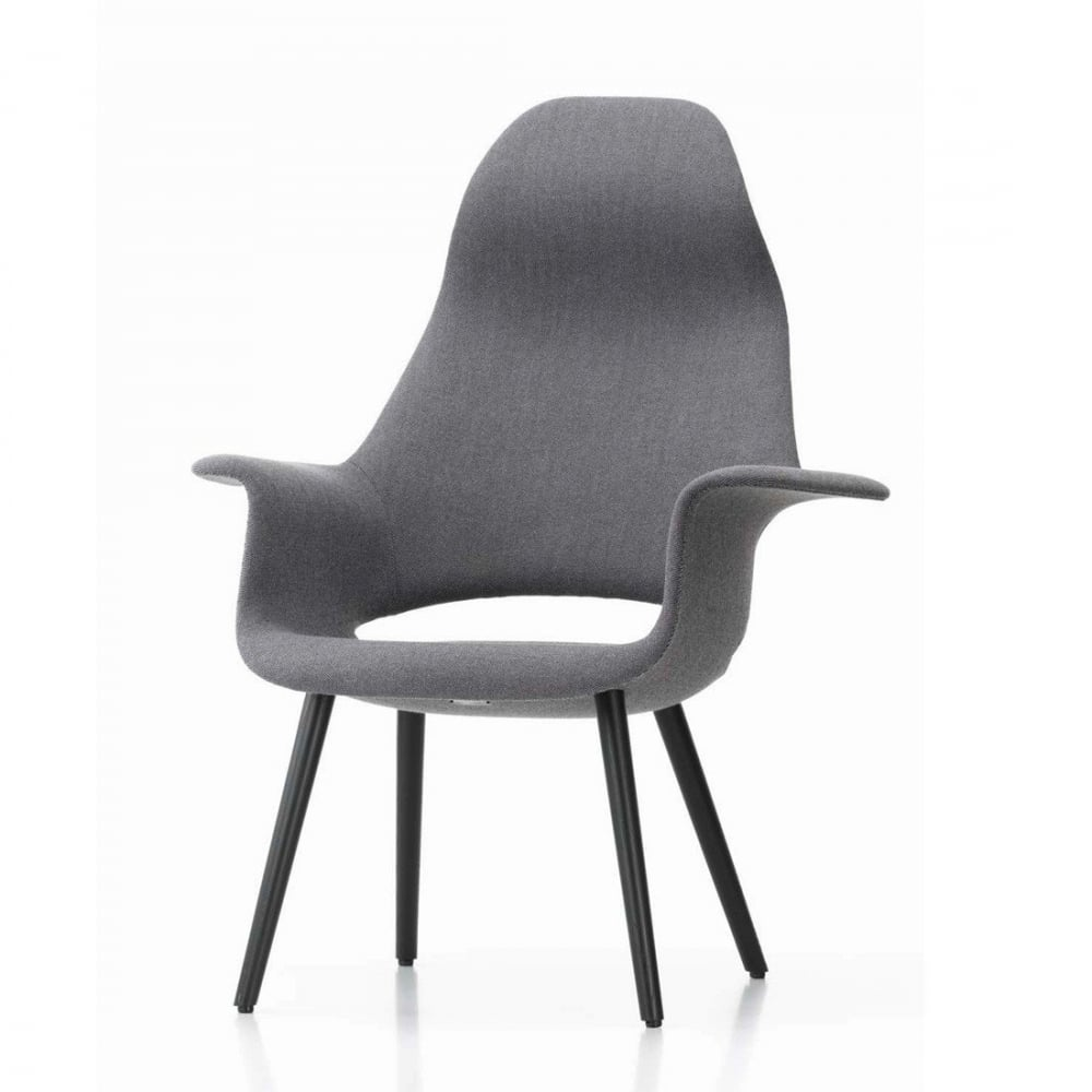 vitra vitra eames organic highback chair vitra from. Black Bedroom Furniture Sets. Home Design Ideas