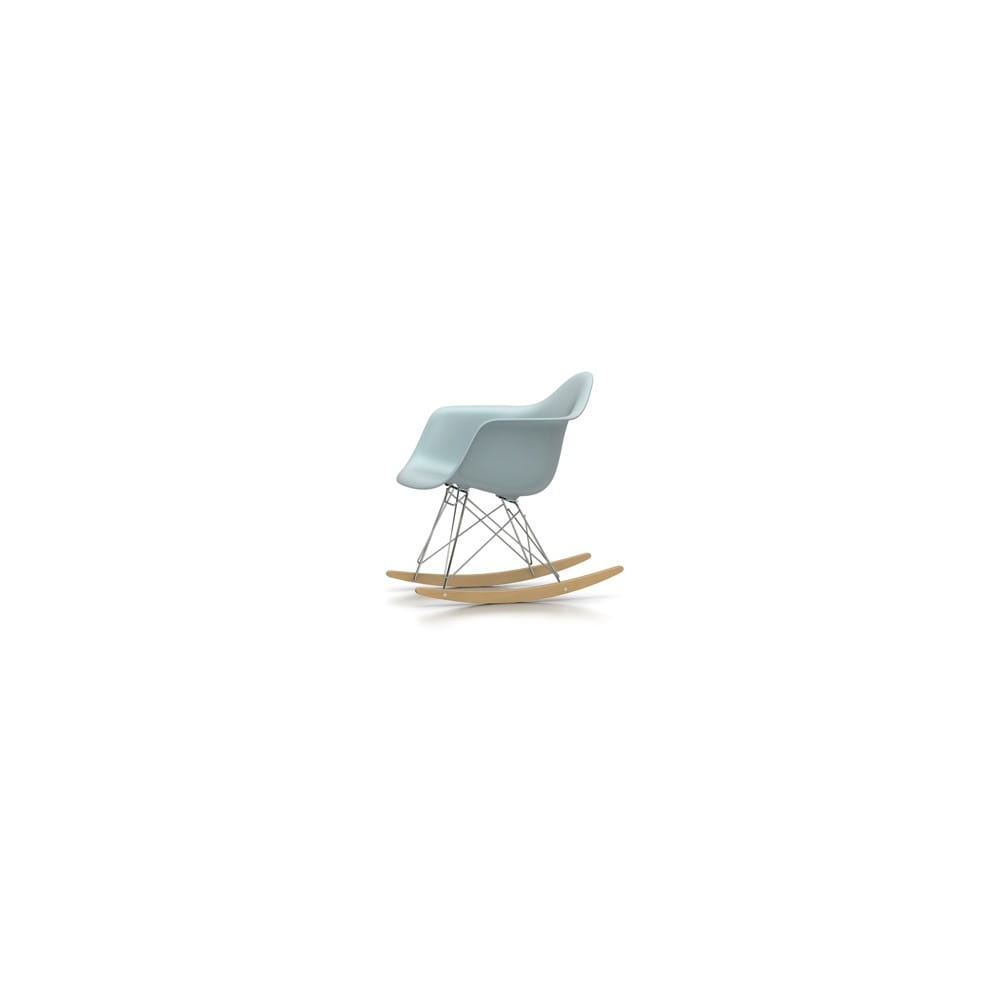 Vitra eames plastic rocking armchair rar for Rocking chair eames vitra