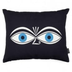 Vitra Eyes Graphic Print Cushion