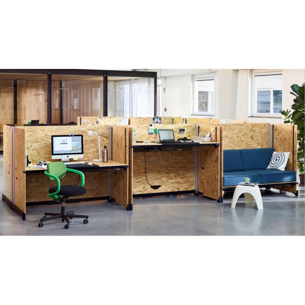 vitra hack desk. Black Bedroom Furniture Sets. Home Design Ideas