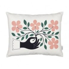 Vitra Hand Graphic Print Cushion