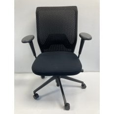 Vitra ID Mesh Chair - Black - Clearance Chair - Ex-Demo Model