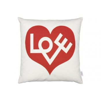 Vitra Love Graphic Print Cushion