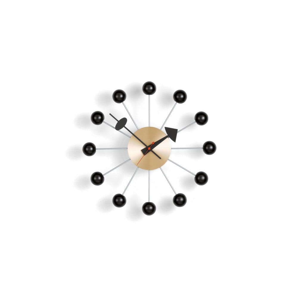 vitra nelson ball clock. Black Bedroom Furniture Sets. Home Design Ideas
