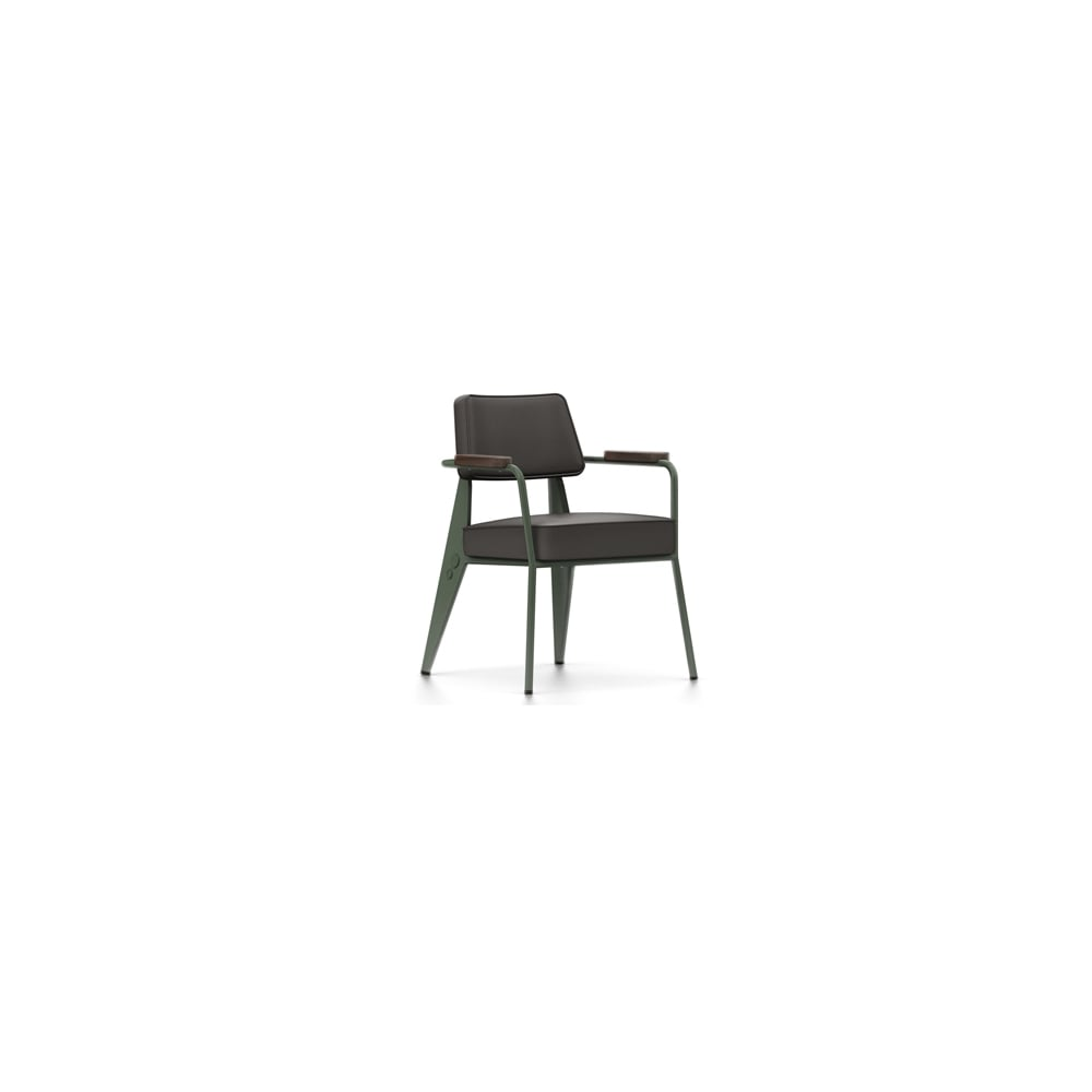 vitra prouve raw office edition fauteuil direction cuir. Black Bedroom Furniture Sets. Home Design Ideas
