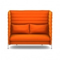 Vitra Alcove Highback Two Seater Sofa