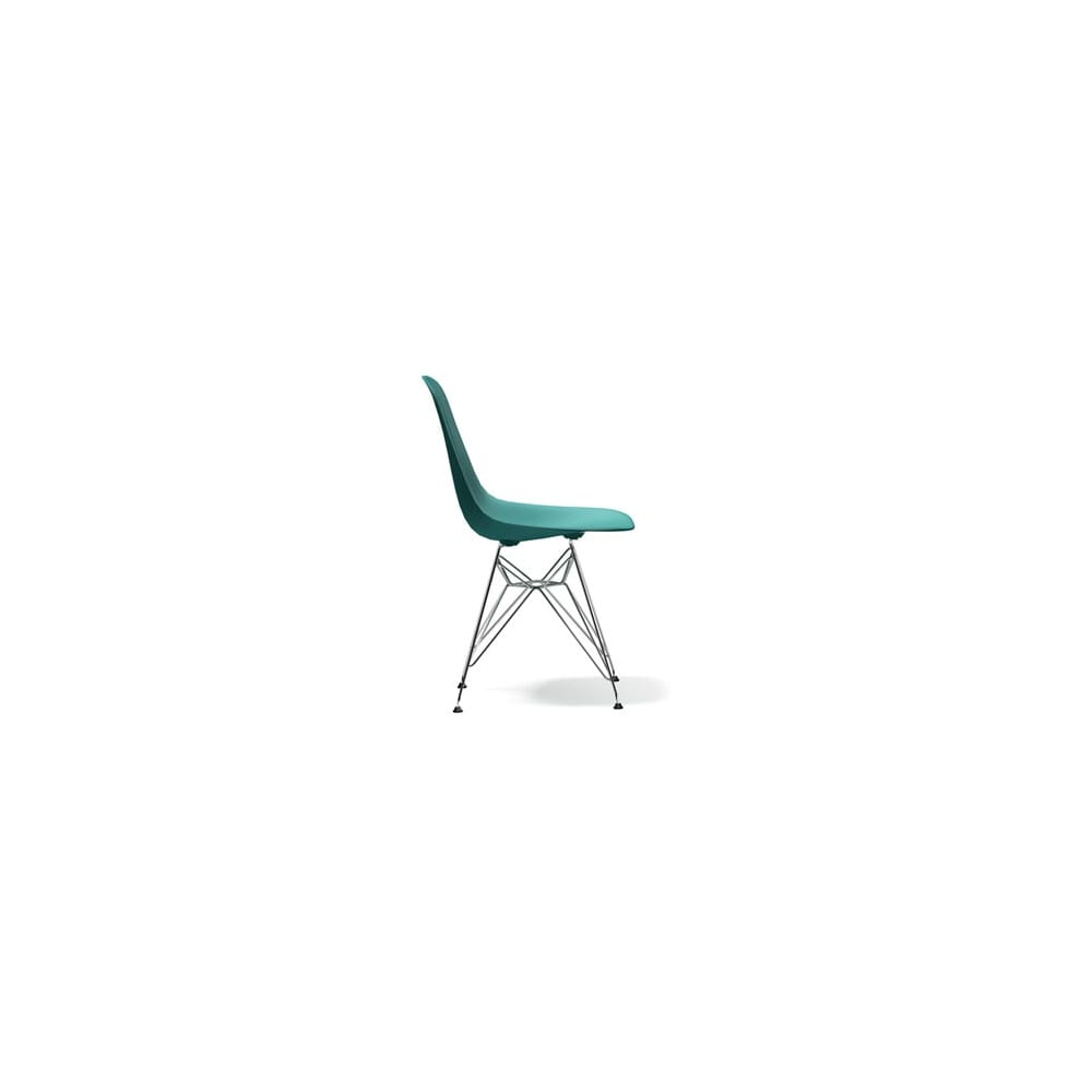 Vitra eames dsr plastic side chair for Eames side chair nachbau