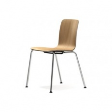 Vitra Hal Ply Tube Stacking Chair