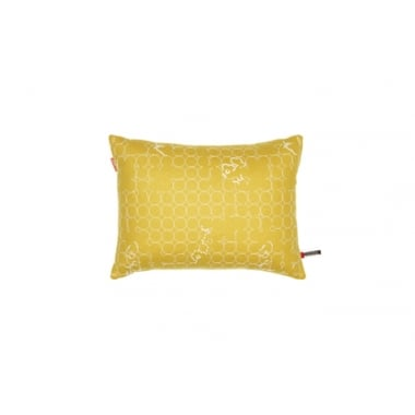 Vitra Layers Vineyard Cushion Ochre/White