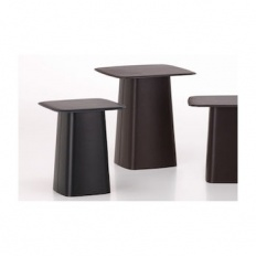 Vitra Leather Side Table